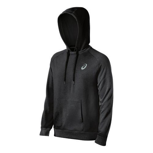 Mens ASICS All Sport Half-Zips & Hoodies Technical Tops - Graphite XL