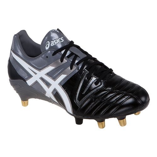 Mens ASICS GEL-Lethal Tight 5 Cleated Shoe - Black/White 8