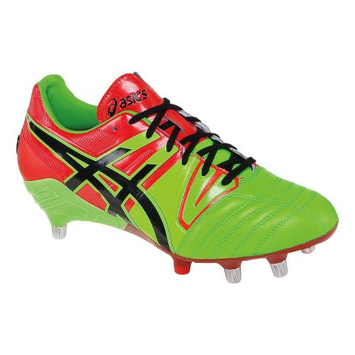 Mens ASICS GEL-Lethal Tight 5 Cleated Shoe - Flash Green/Black 11.5