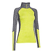 Womens Under Armour ColdGear Cozy 1/2 Zip Long Sleeve Technical Tops