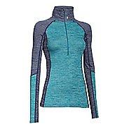 Womens Under Armour ColdGear Cozy 1/2 Zip Long Sleeve Technical Tops
