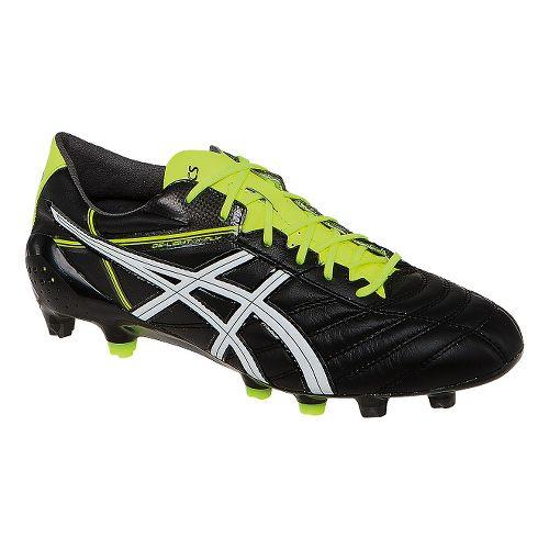 Mens ASICS DS Light X-Fly 2 K Cleated Shoe - Black/White 10