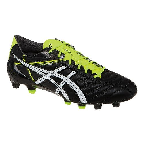 Mens ASICS DS Light X-Fly 2 K Cleated Shoe - Black/White 9