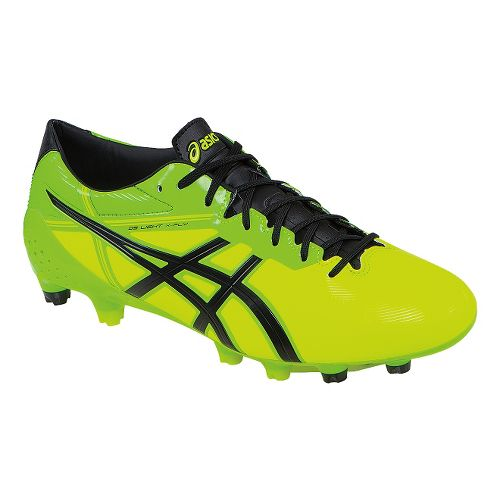 Mens ASICS DS Light X-Fly 2 MS Cleated Shoe - Flash Yellow/Black 11.5