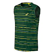 Mens ASICS Athlete Sleeveless Technical Tops
