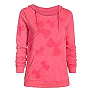 Womens Under Armour Kaleidalogo Pullover Warm Up Hooded Jackets