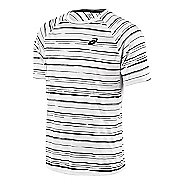 Mens ASICS Club Graphic Short Sleeve Technical Tops