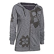 Womens Under Armour Kaleidalogo Full-Zip Warm Up Hooded Jackets