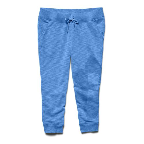 Womens Under Armour Kaleidalogo Capri Pants - Picasso Blue XS