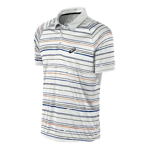 Men's ASICS�Club Graphic Short Sleeve Polo