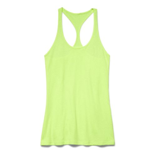 Womens Under Armour Charged Cotton Tri-Blend Ultimate Tank Technical Tops - X-Ray XS