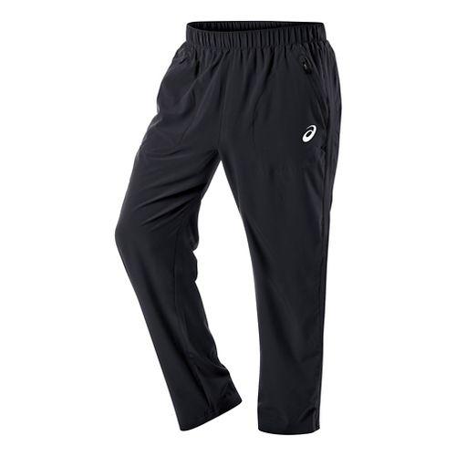 Mens ASICS Club Woven Full Length Pants - Real White XXL