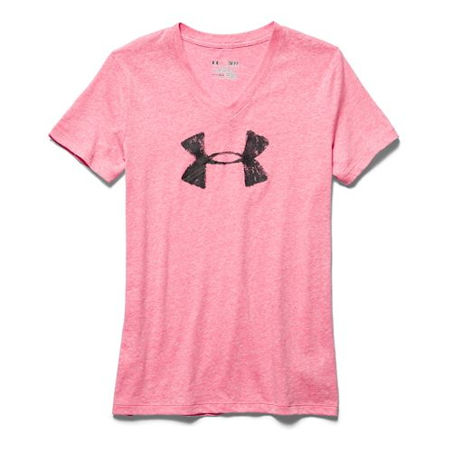 Women's Under Armour�Charged Cotton Painted Shortsleeve V-Neck
