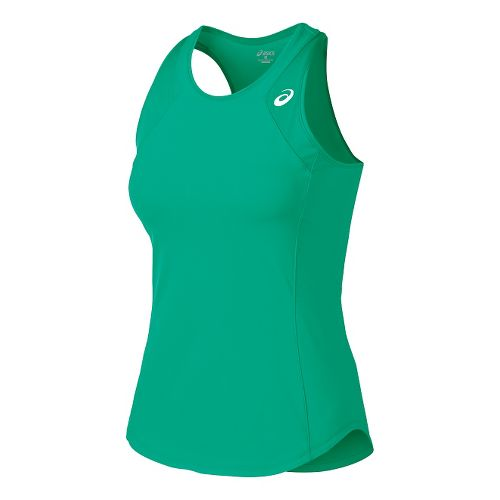 Womens ASICS Athlete Tank Technical Tops - Cool Mint XL