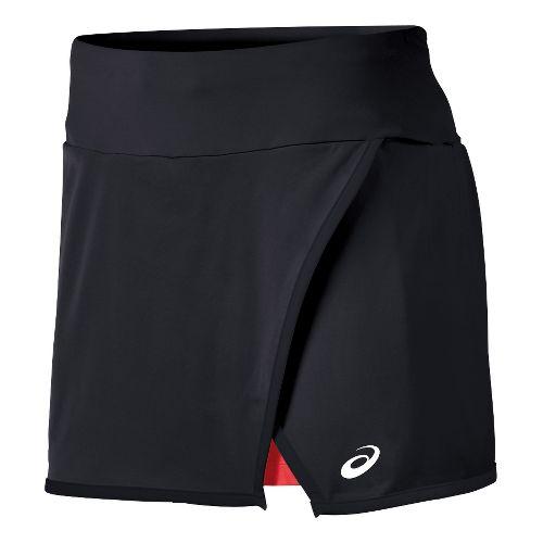 Mens ASICS Athlete Skort Fitness Skirts - Black S