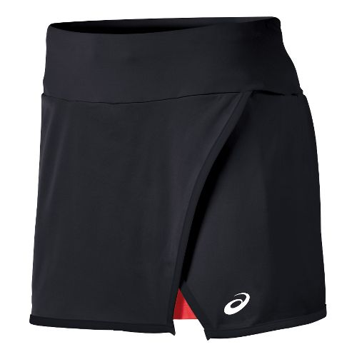Mens ASICS Athlete Skort Fitness Skirts - Black XL