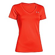Womens Under Armour Tech V-Neck Short Sleeve Technical Tops