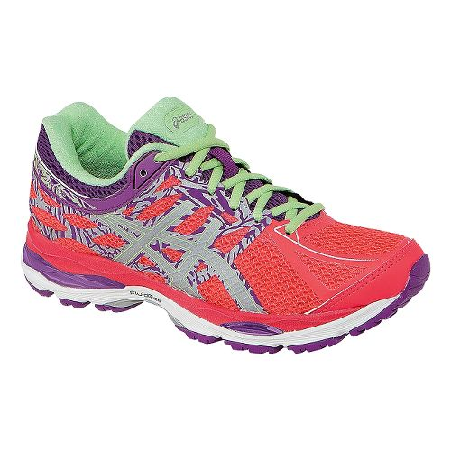 Womens ASICS GEL-Cumulus 17 Lite-Show Running Shoe - Pink/Purple 7.5