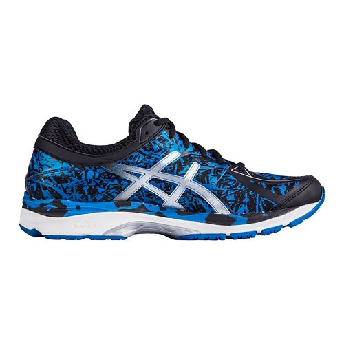 Mens ASICS GEL-Cumulus 17 Running Shoe - Blue/Silver 11.5
