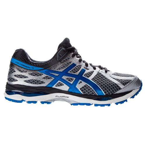 Mens ASICS GEL-Cumulus 17 Running Shoe - Indigo/Flash Yellow 14