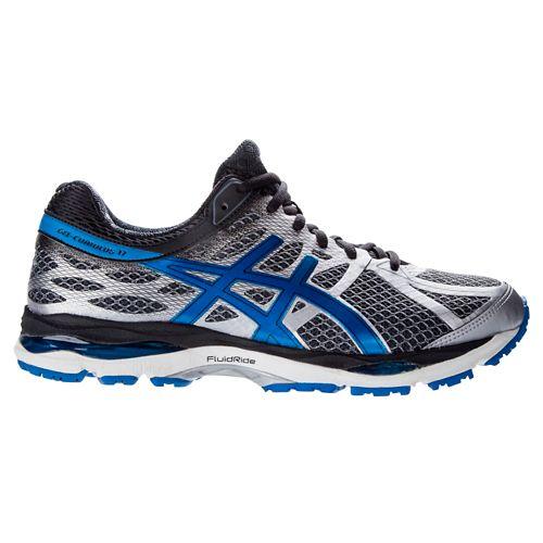 Mens ASICS GEL-Cumulus 17 Running Shoe - Blue/Silver 9