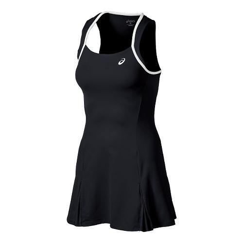 Womens ASICS Club Dress Fitness Skirts - Black XS