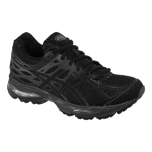 Womens ASICS GEL-Cumulus 17 Running Shoe - Black/Onyx 6