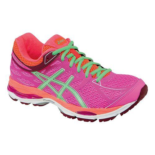 Womens ASICS GEL-Cumulus 17 Running Shoe - Pink/Pistachio 11.5