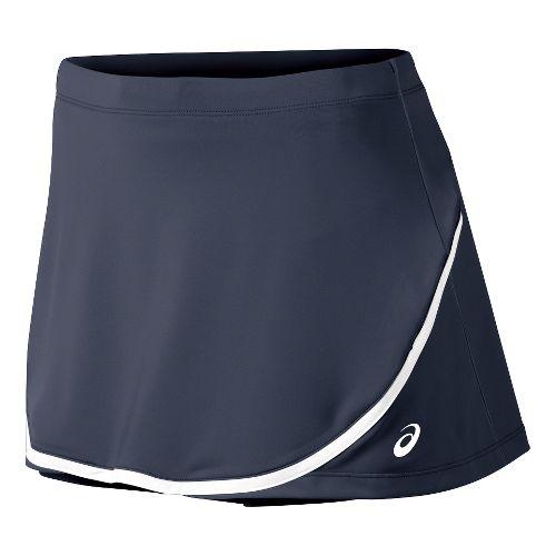 Womens ASICS Club Skort Fitness Skirts - Dark Cobalt S