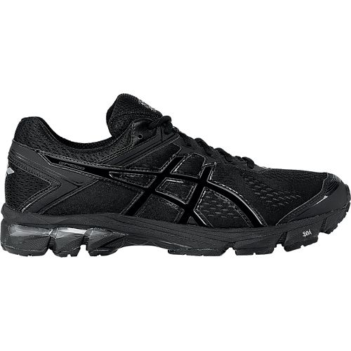 Mens ASICS GT-1000 4 Running Shoe - Black/Onyx 12