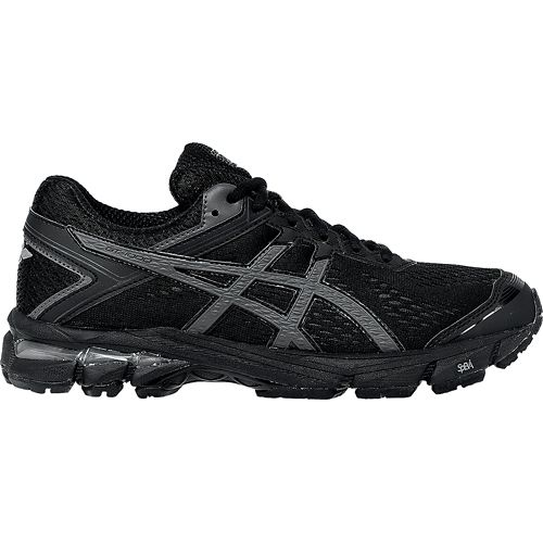 Womens ASICS GT-1000 4 Running Shoe - Black/Onyx 10