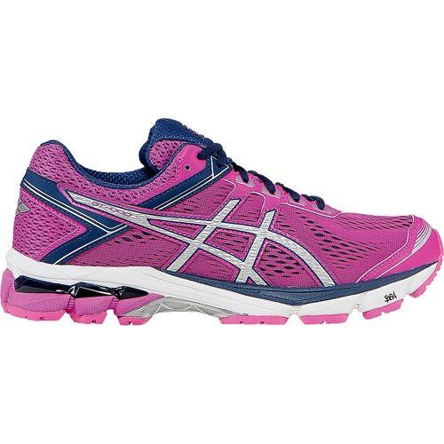 Womens ASICS GT-1000 4 Running Shoe - Pink/Blue 6
