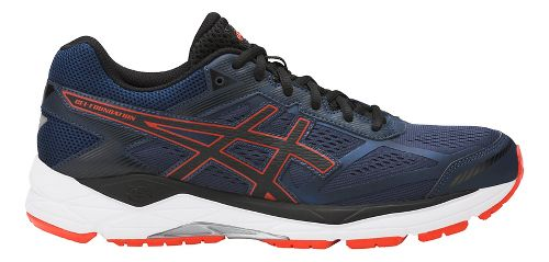 Mens ASICS GEL-Foundation 12 Running Shoe - Blue/Orange 7