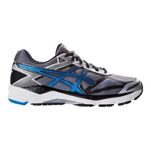 Mens ASICS GEL-Foundation 12 Running Shoe - Grey/Blue 14