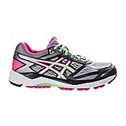 Womens ASICS GEL-Foundation 12 Running Shoe - Silver/Mint 6.5