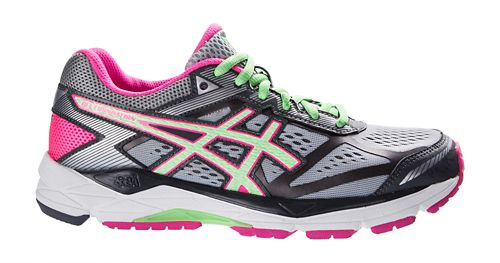 Womens ASICS GEL-Foundation 12 Running Shoe - Silver/Mint 7.5