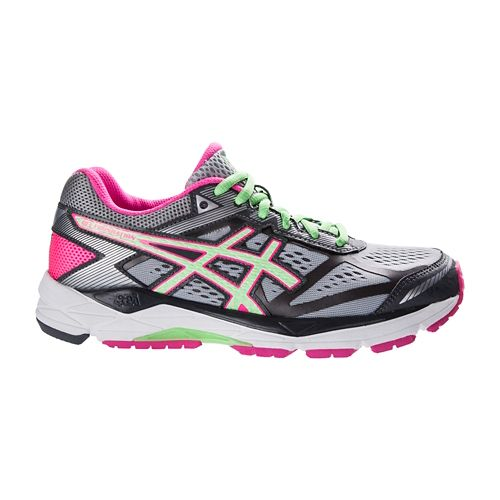 Womens ASICS GEL-Foundation 12 Running Shoe - Silver/Mint 7.5