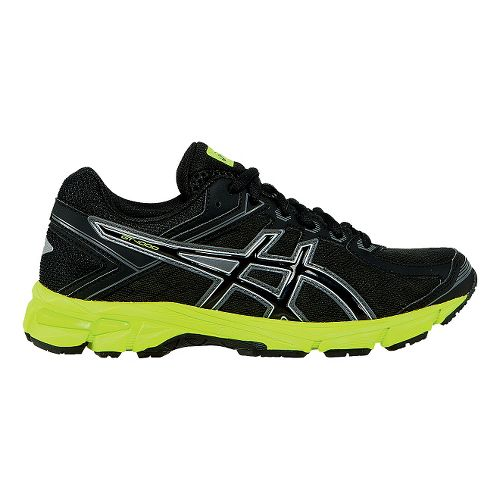 Kids ASICS GT-1000 4 GS Running Shoe - Black/Flash Yellow 1.5