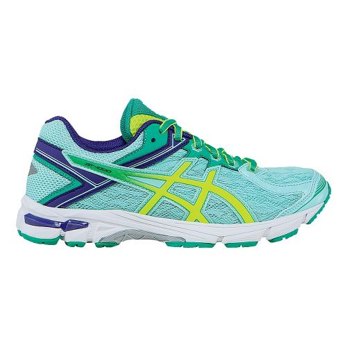 Kids ASICS GT-1000 4 Running Shoe - Ice Blue/Yellow 6.5Y