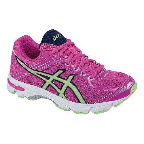 Kids ASICS GT-1000 4 Running Shoe - Pink/Mint 1.5Y