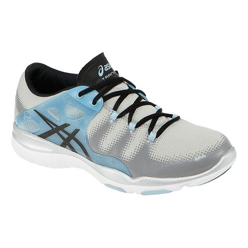 Womens ASICS GEL-Fit Vida Cross Training Shoe - Grey/Light Blue 7.5