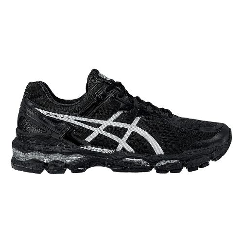 Mens ASICS GEL-Kayano 22 Running Shoe - Black/Black 7