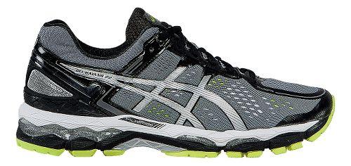 Mens ASICS GEL-Kayano 22 Running Shoe - Charcoal/Silver 10.5
