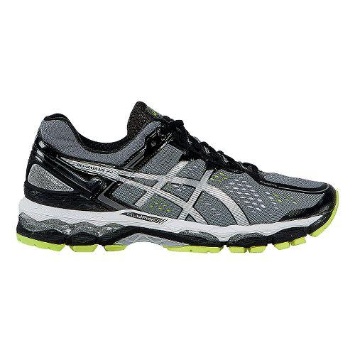 Mens ASICS GEL-Kayano 22 Running Shoe - Charcoal/Silver 9.5