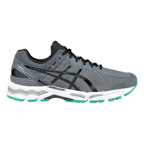 Mens ASICS GEL-Kayano 22 Running Shoe - Grey/Silver 12