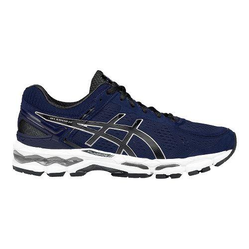 Mens ASICS GEL-Kayano 22 Running Shoe - Mediterranean/Black 12