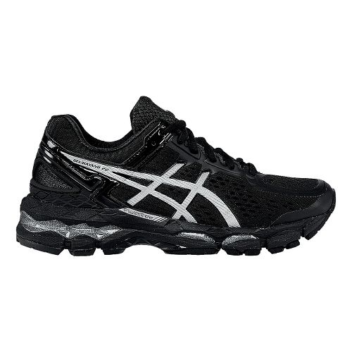 Womens ASICS GEL-Kayano 22 Running Shoe - Black/Black 11