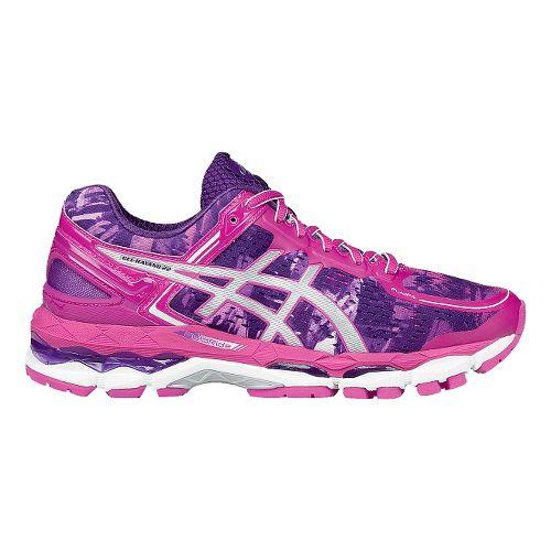Womens ASICS GEL-Kayano 22 Running Shoe - Purple/Pink 7.5