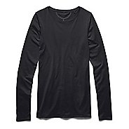 Womens Under Armour Long and Lean Long Sleeve No Zip Technical Tops