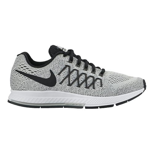 Kids Nike Air Zoom Pegasus 32 Running Shoe - Grey 1Y
